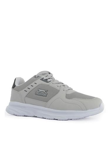 Slazenger Slazenger Sagar Sneaker Erkek Ayakkabı  Gri